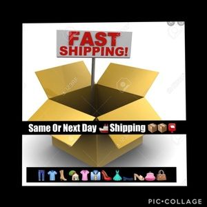 Fast Shipping Same or Next Day 👞👠👗👕